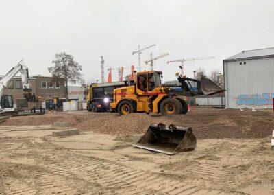 grondwerk parkeergarage